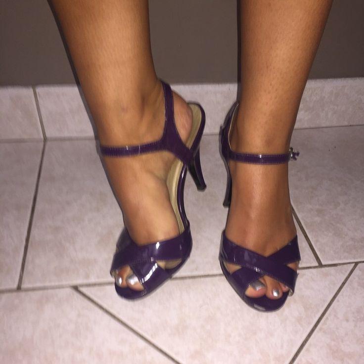 Escarpins violet 38   ! Taille 38  à seulement 8.00 €. Par ici : http://www.vinted.fr/chaussures-femmes/talons-hauts-et-escarpins/38433894-escarpins-violet-38.