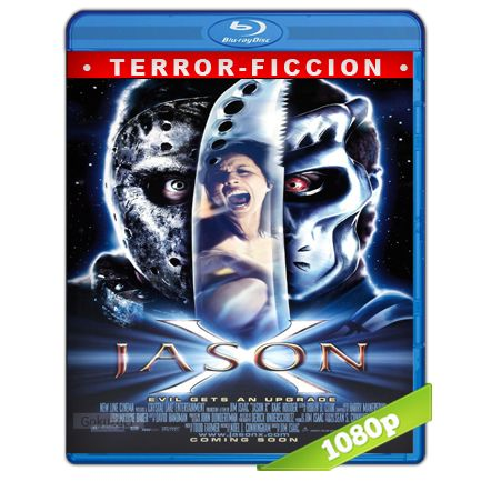 Viernes 13 Parte 10 Jason X Full HD1080p Audio Trial Latino-Castellano-Ingles 5.1 (2001)