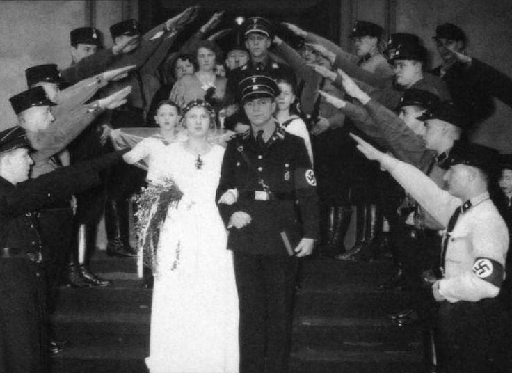 """Ever wonder about marriage in the Third Reich? Jim Snowden shares findings from the research he has done in preparation for his upcoming novel, SUMMER OF LONG KNIVES >>> """"[T]he Nazis were obsessed with driving women out of the professions and into marriages which would produce large numbers of children..."""""""