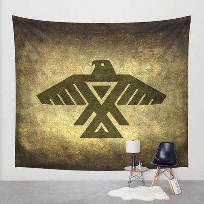Thunder bird power bird Wall Tapestry by BruceStanfieldArtist North America | Society6