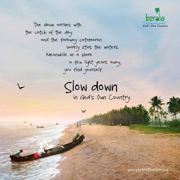 #SlowDowninKerala