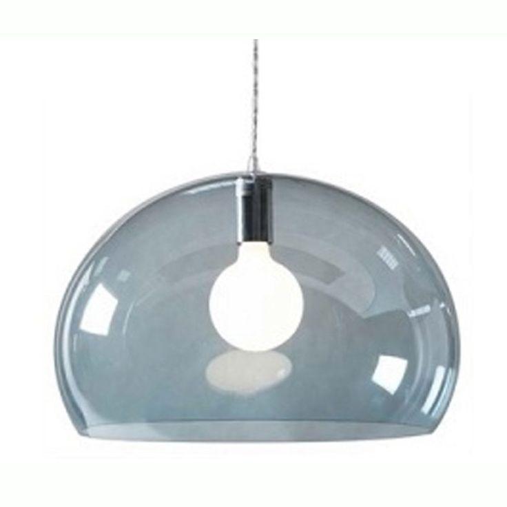FL/Y taklampe, lysblå Kartell - Kjøp møbler online på ROOM21.no