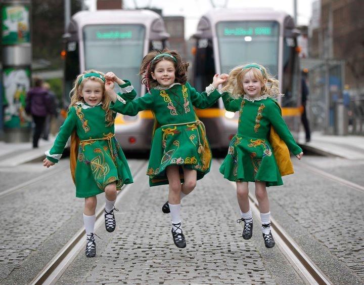 st. patrick's festival, ireland.
