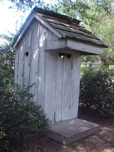 Especially like overhang detail on the privy house.