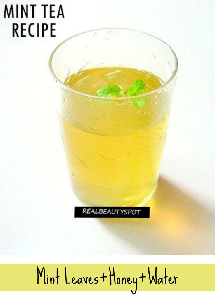 How to make Fresh Mint Tea | How to make, Mint and Mint tea