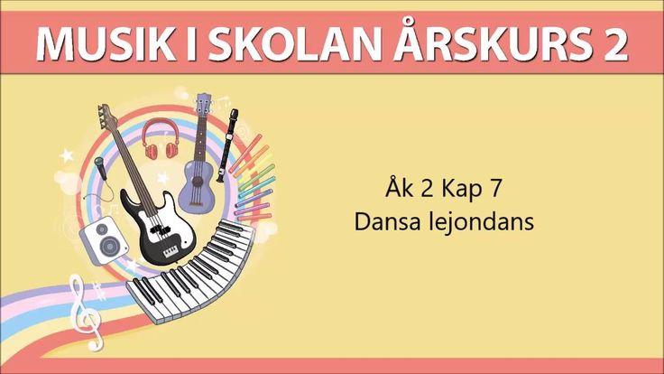 Musik i skolan Åk 2 Kap 7 Dansa lejondans