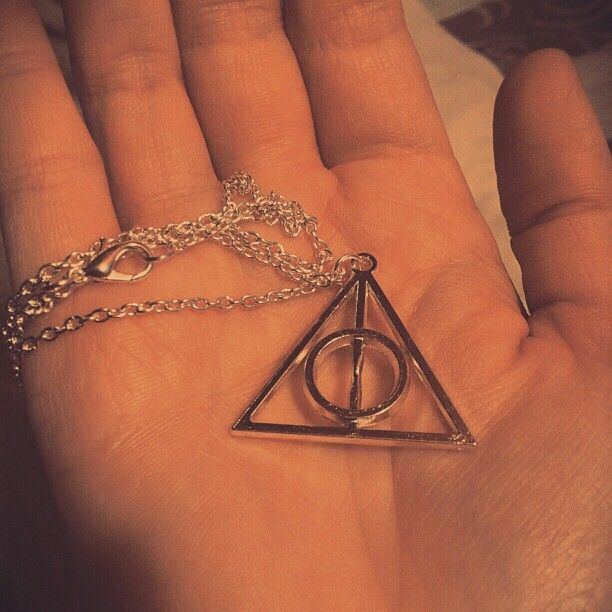 Deathly Hallows, Harry Potter, The Tale Of The Three Brothers, Necklace