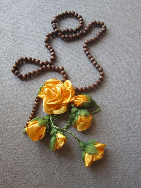 Turkish Prayer 99 Beads Flower RosaryRosary by scarfnurlu on Etsy