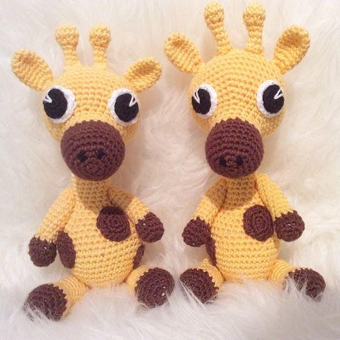 Det är verkligen roligt att virka djur! Jag provade att virka en giraff och jag tyckte den blev så bra så jag gjorde ytterligare en! ...