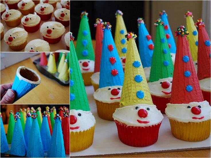 Birthday Cake With Clown
