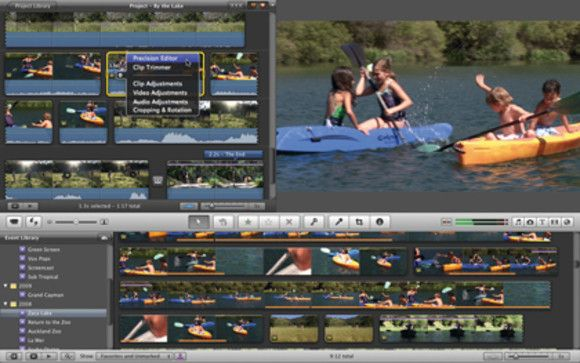 how to open old imovie projects in imovie 10