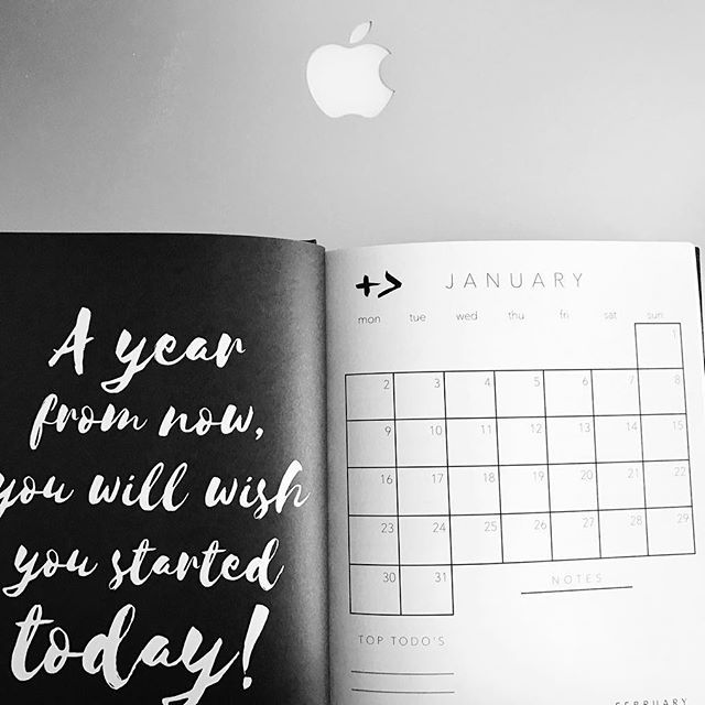 Making plans for next year... Always be one step ahead... thank you @byallthings #plan #plantstrong #planner #planner2017 #proactive #strongmind #byallthings #workhard #besuccessful