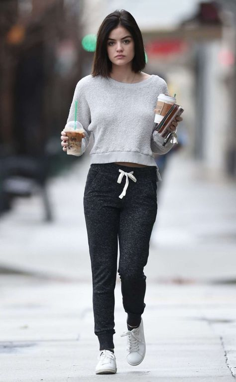 The Cutest Look from Lucy Hale Street Style