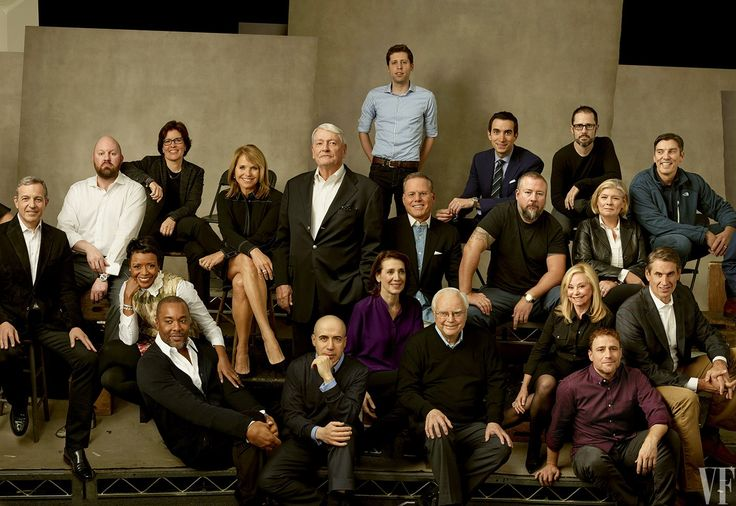 <em>Top row, from left:</em> <strong>Marc Andreessen</strong> Andreessen Horowitz, <strong>Kara Swisher</strong> Re/Code, <strong>Katie Couric</strong> Yahoo News, <strong>John Malone</strong> Liberty Media, <strong>Sam Altman</strong> Y Combinator, <strong>David Zaslav</strong> Discovery Communications, <strong>Andrew Ross Sorkin</strong> <em>The New York Times</em> and CNBC, <strong>Shane Smith</strong> Vice Media, <strong>Ev Williams</strong> Medium, <strong>Laura Desmond</strong…