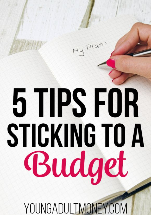Many people find sticking to a budget difficult. This post has 5 tips for successful budgeting.