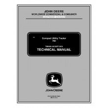 John Deere 790 Compact Utility Tractor Technical Manual TM-2088 PDF