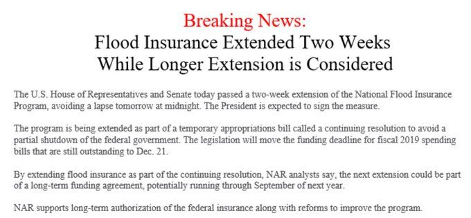 Jayson Bates On Flood Insurance Long Extensions House Of