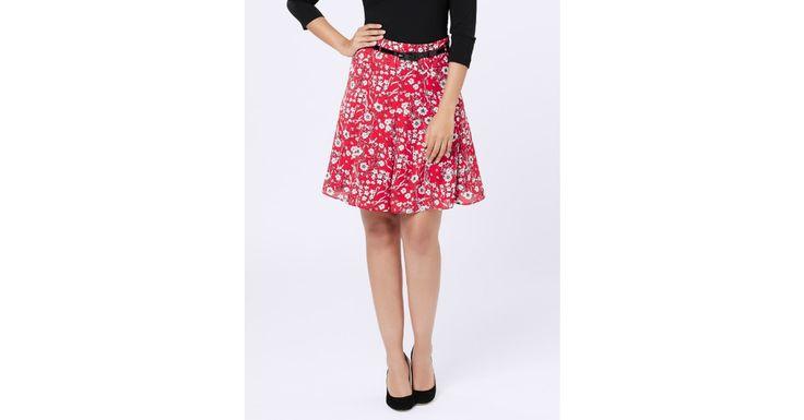Review Australia - Harrietta Skirt Red