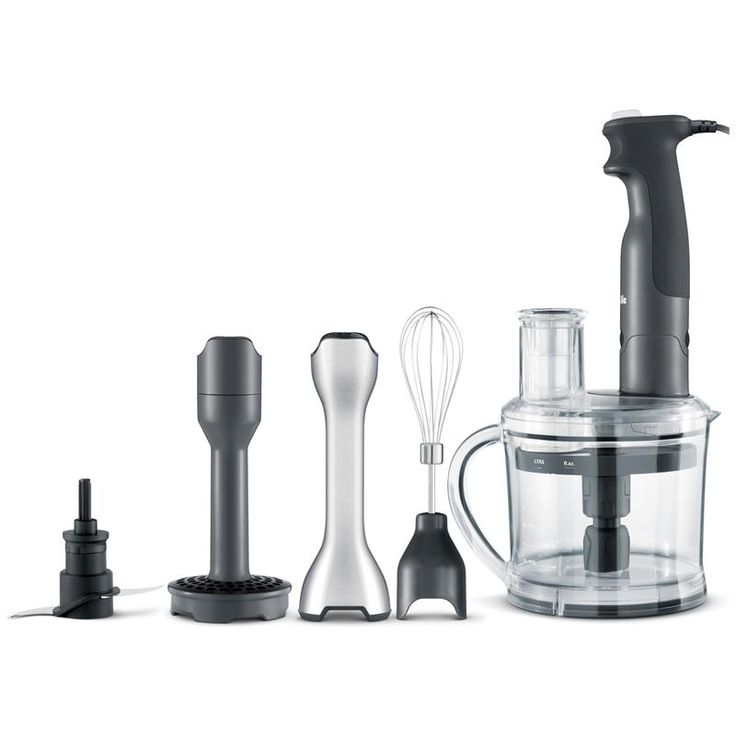 The All in One Anti Suction Blending allows you to keep control over your immersion blender rather than it having control over you. The Adjustable Slicing Disc has 18 thickness settings so you can customize the thickness of your slices from 0.5mm thin up to 6mm thick. Select the texture of your mash with the Variable Mashing Leg, simply twist the adjustable head for fine, medium or coarse mashing texture. Cut through tasks in half the time using the S blade without over processing.