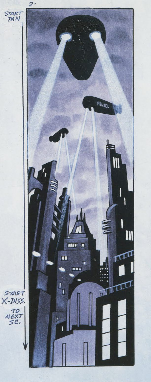 Living Lines Library: Batman (TV Series 1992–1995) - Storyboards