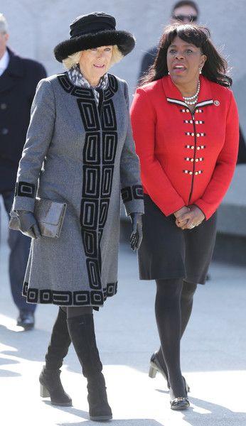 Camilla Parker Bowles Photos: Prince Charles Visit Washington, DC: Day 2
