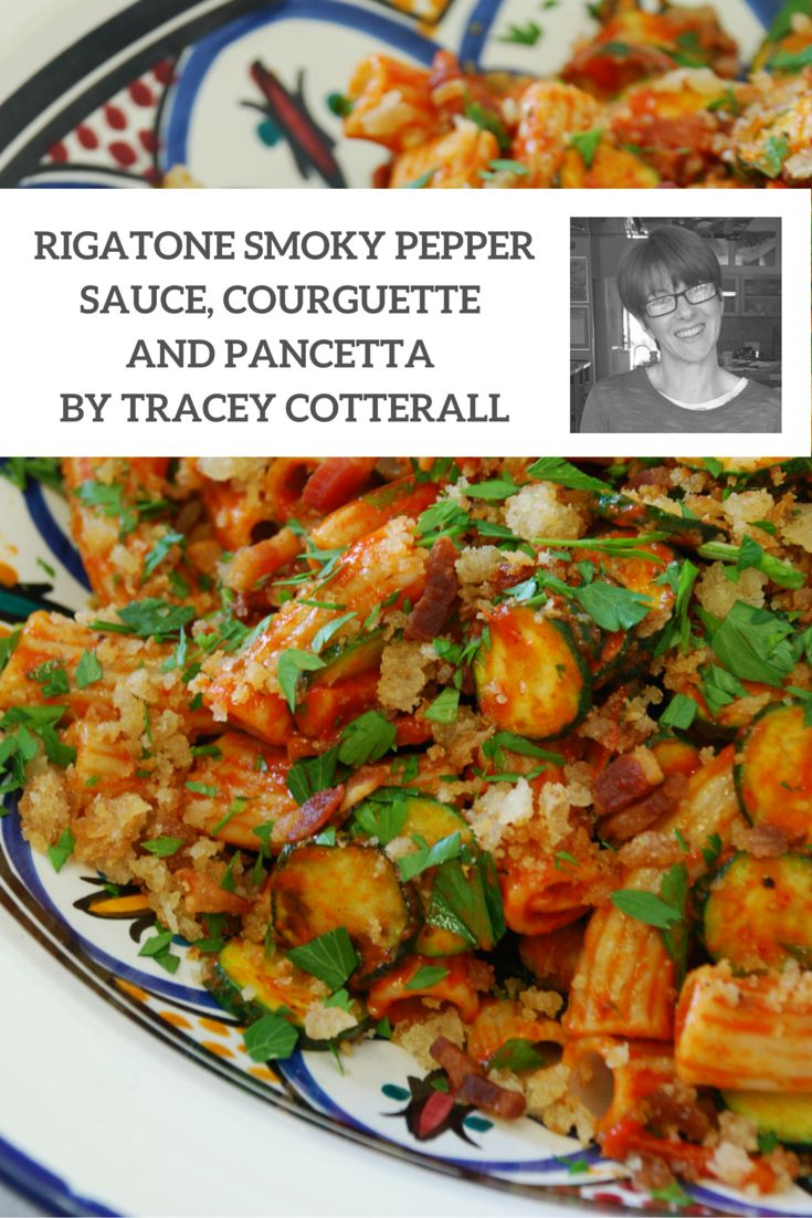 One of our favourite summer salad recipes would have to be Matters of Taste founder and chef, Tracey Catterall's, Angelo's Pasta's Spelt Rigatone Smoky Pepper Sauce, Courguette and Pancetta. Delicious, colourful and full of flavour, this pasta salad will have your guests coming back for more!