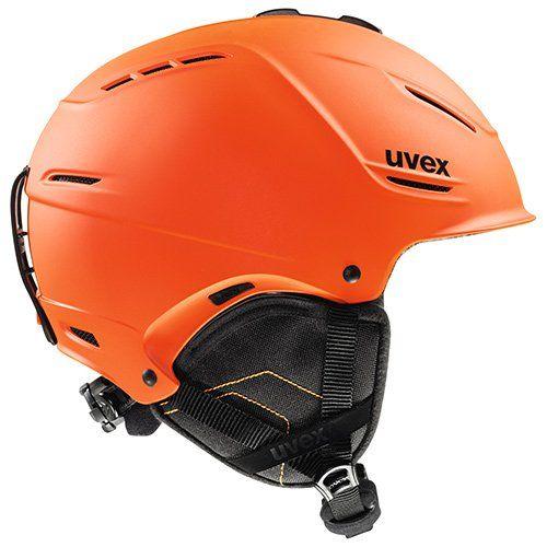 Uvex P1us Ski Helmet Dark Orange