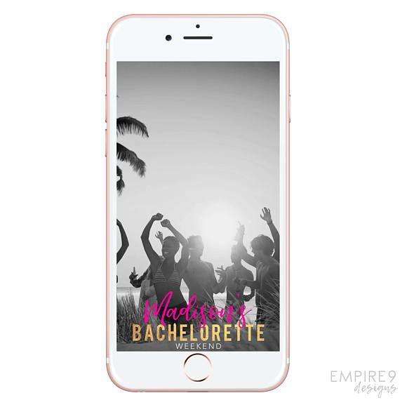 Bachelorette Snapchat Geofilter Bachelorette Snapchat Filter