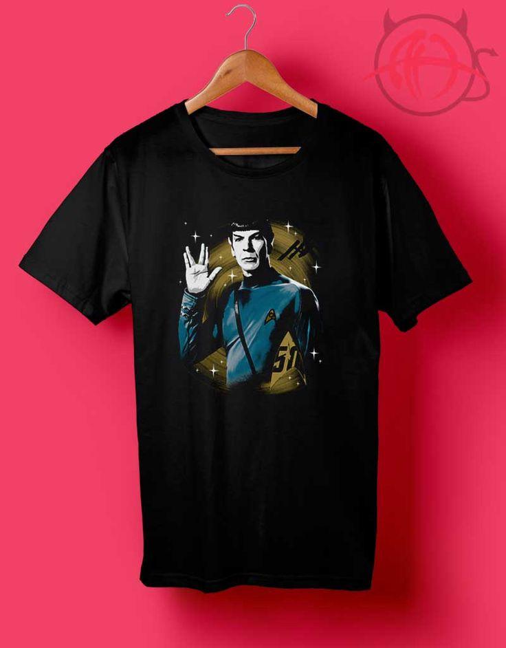 Star Trek 50th Anniversary Spock T Shirt //Price: $14.50