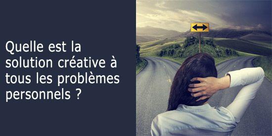 Solution créative aux problèmes