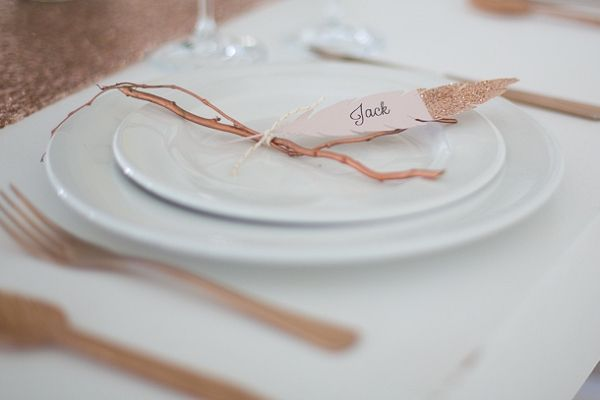 Autumn Place Setting | Veronique Photography on @SouthBoundBride via @aislesociety