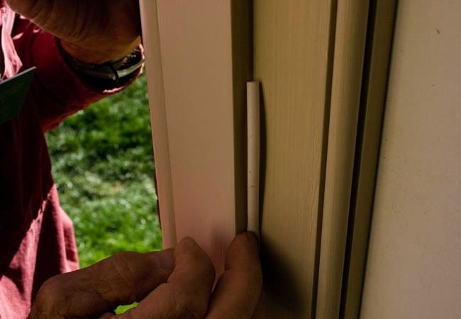 The right way to weatherstrip a door