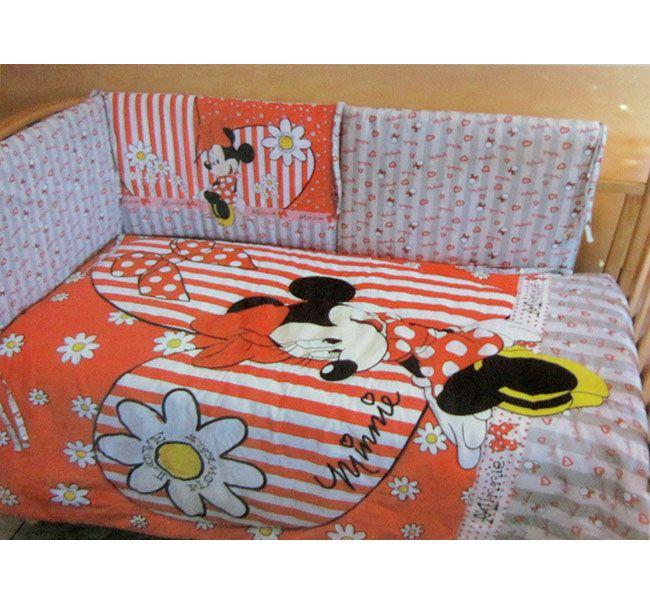 Trapunta Disney Minnie invernale lettino culla. #disney