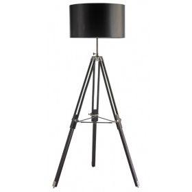 Lámpara de pie madera trípode pantalla tela   Catálogo Home Especial Iluminación
