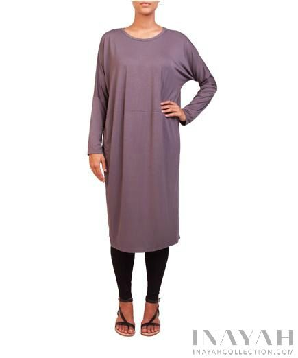 Charcoal Cocoon Midi | INAYAH www.inayahcollection.com