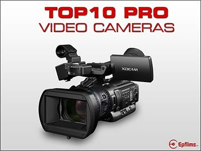 top ten professional video cameras