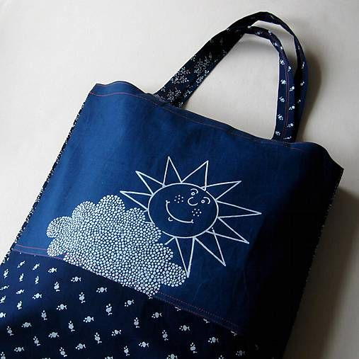 blueprint / ZA OBLÁČKEM - nákupní taška