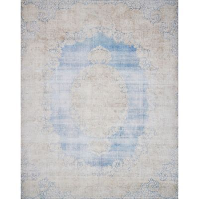 Accentuate your home décor with the Lucca Rug from Magnolia Home by Joanna Gaines. In a polyester and cotton blend, this richly textured rug is highl…