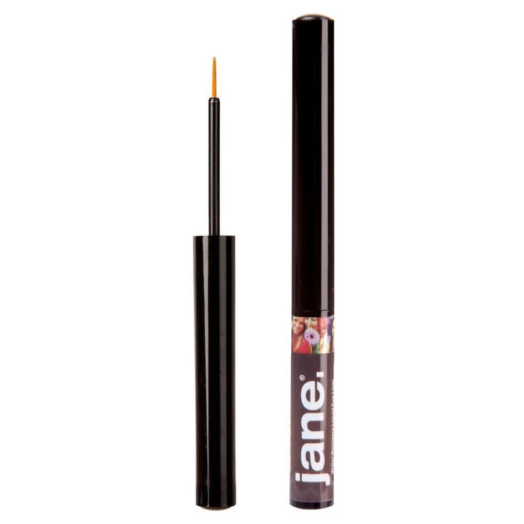 Jane Cosmetics Water-Resistant Liquid Eyeliner, Brown