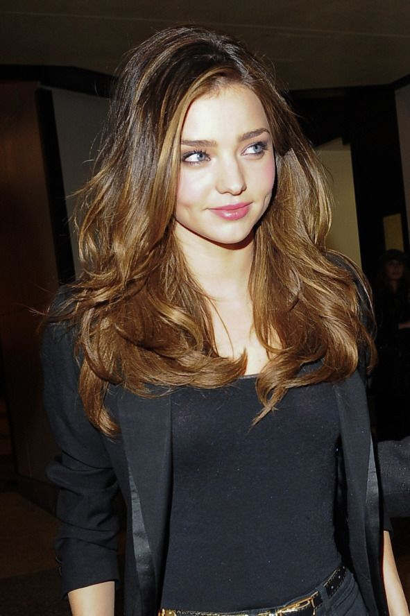 Miranda Kerr. Her hair is perfect.