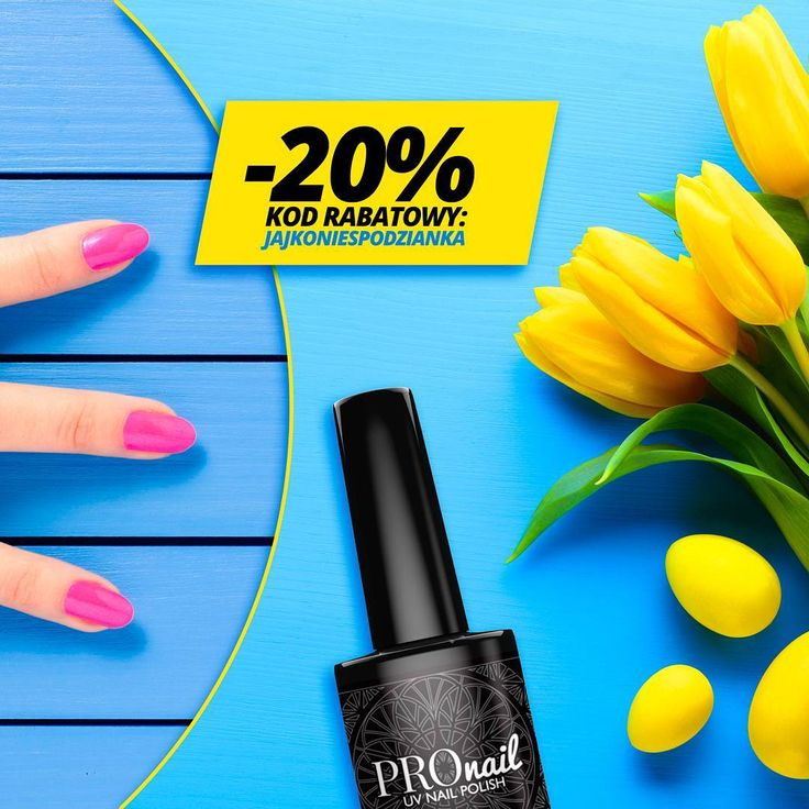 PROMOCJA WIELKANOCNA -20%  Zamów już dziś produkty do stylizacji paznokci i rzęs...
