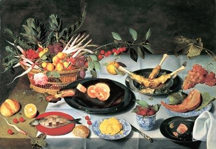 Sinn und Sinnlichkeit _ Das Flämische Stillleben 1550 - 1680