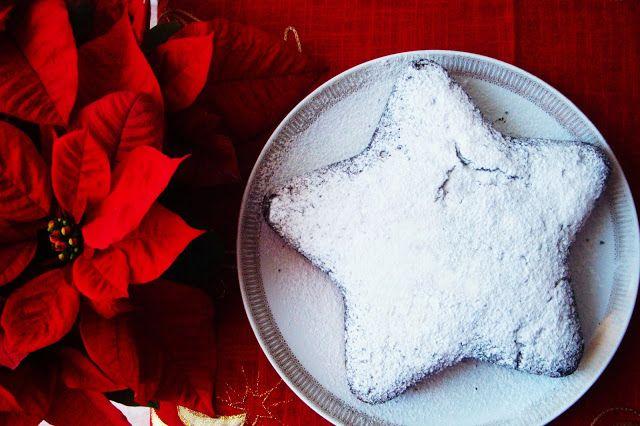 Le ricette di Valentina & Bimby: STELLA DI NATALE CON SCIROPPO DI AMARENA
