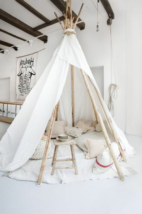 die besten 25 tipi selber bauen ideen auf pinterest. Black Bedroom Furniture Sets. Home Design Ideas