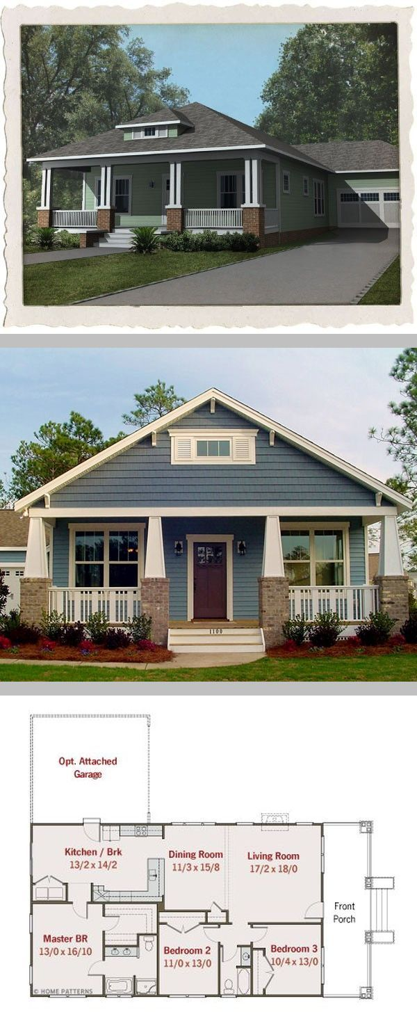 Best 25 bungalow floor plans ideas on pinterest for Bungalow roof styles