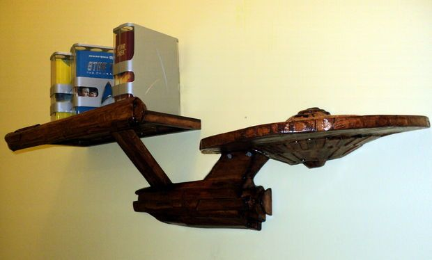Picture of Star Trek Enterprise Composite Shelf
