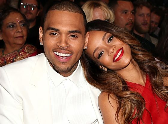 Chris Brown & Rihanna #Grammys #kiss