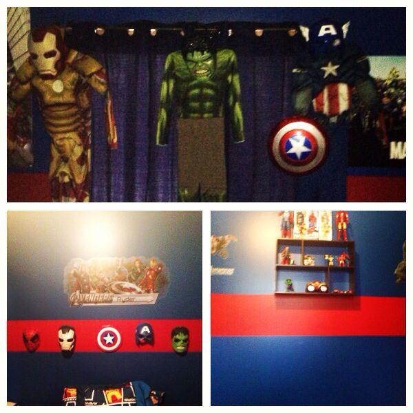 Avengers bedroom ryder 39 s room 2013 avengers bedroom pinterest avengers bedroom avengers - Avengers bedroom ...