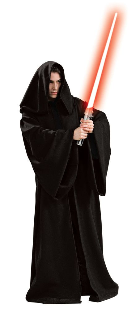 Men's / Women's Costume Super Deluxe Hooded Sith Robe