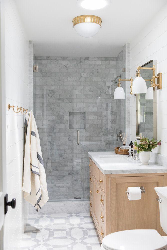 Modern California Home With Neutrals And Jewel Tones In 2020 Bathroom Design Bathroom Interior Design Bathroom Interior